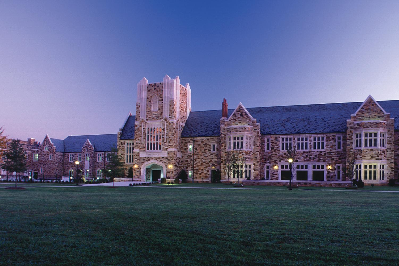 Rhodes College BCLC at dawn.
