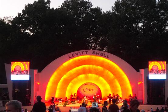 Rhodes Night at the Levitt Shell.