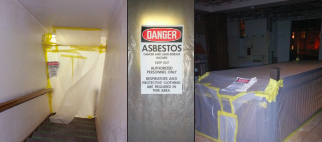 Asbestos in Briggs Hall