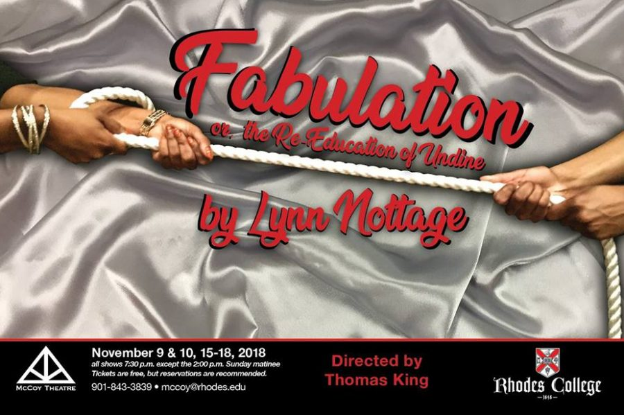 McCoy+Theatre%27s+Fabulation+advertisement