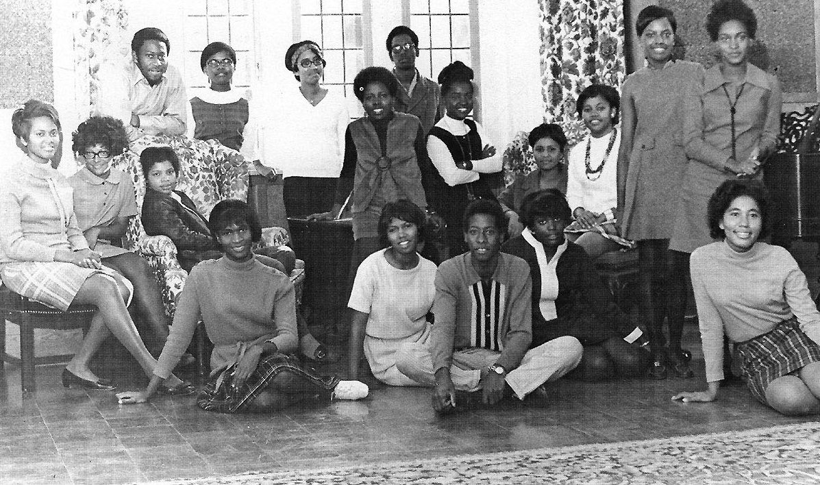 The first group of BSA students in 1970