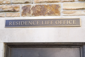 The Residence Life Office sign hangs outside Trezevant Hall. Inside, students detailed a series of discomforting events—all involving Housing Director Aretha Milligan.
