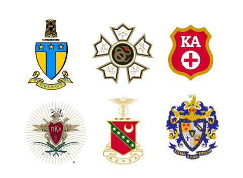 The seals of the six Rhodes IFC members