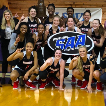 Women's Basketball wins SAA conference championship